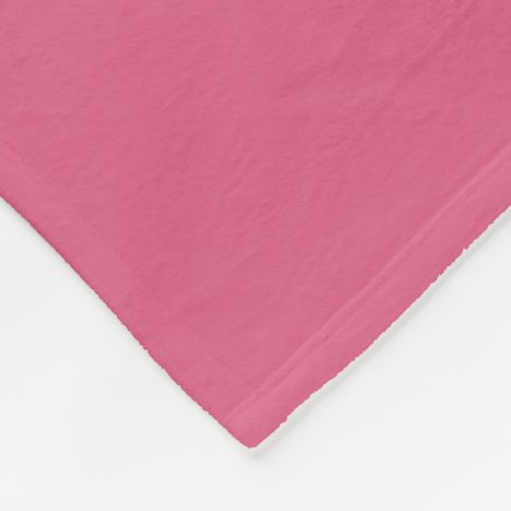 Blush Fleece Blanket