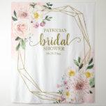 "Blush Floral Bridal Shower Backdrop Photo Prop<br><div class=""desc"">Blush Floral Bridal Shower Backdrop Photo Prop</div>"
