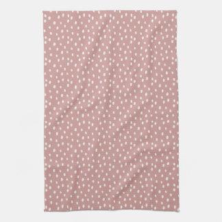Blush geo kitchen towel