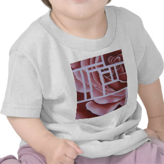 Blush Geo Rose Tshirt