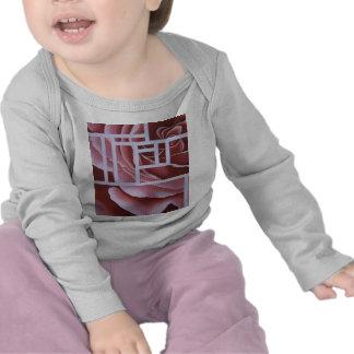 Blush Geo Rose Tee Shirt