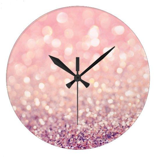 Blush Large Clock