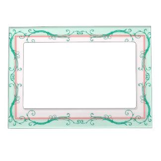 blush peach mint magnetic frame - Mint Picture Frames