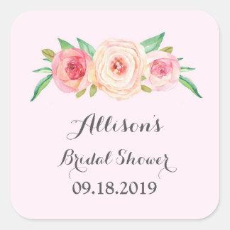 Blush Pink Bridal Shower Favor Tag