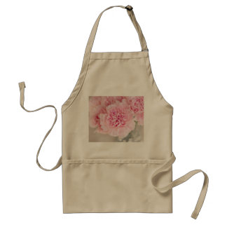 Blush Pink Carnations Adult Apron