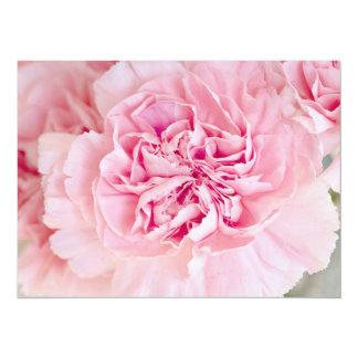 Blush Pink Carnations Card