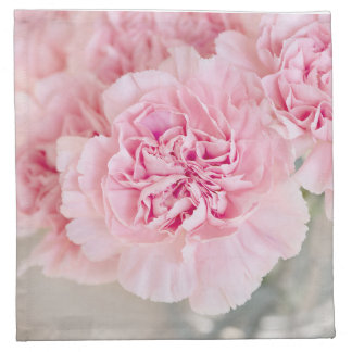 Blush Pink Carnations Napkin