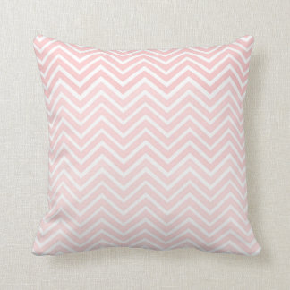 Blush Pink Throw Pillows : Blush Pink Chevron Pillow Ombre Square