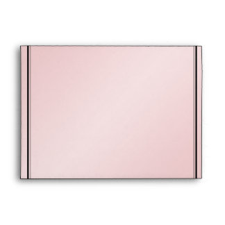 Blush Pink Elegance Wedding Envelope
