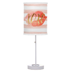 Blush Pink Table Amp Pendant Lamps Zazzle