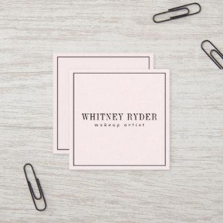 Blush Pink Modern Business Cards