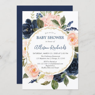 navy and hot pink baby shower-peony baby shower 12 Navy and pink baby shower favors-pink peonies baby shower-navy and gold girl baby shower