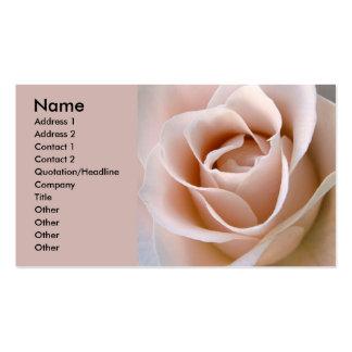 Blush Pink Rose Business Card