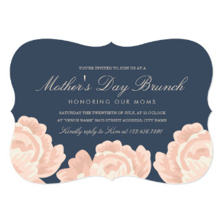 Blush Pink Roses Mother's Day Card