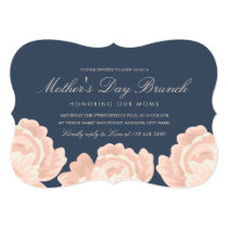 Blush Pink Roses Mother's Day Invitation