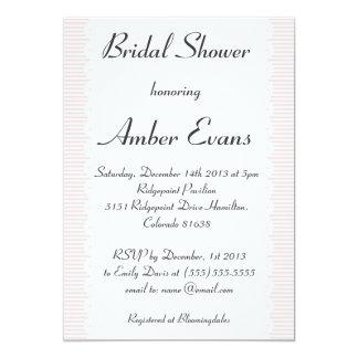 Blush Pink Scalloped Bridal Shower Invitation
