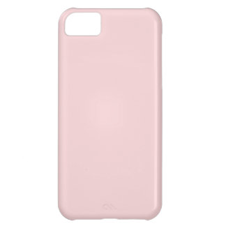 Blush Pink Solid Color iPhone 5C Cases