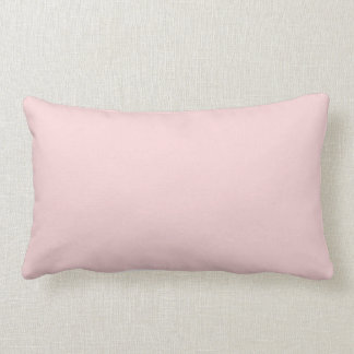 Blush Pink Solid Color Pillow