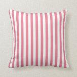 Blush Pink Stripes; Striped Pillows