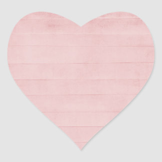 Blush Pink Watercolor Texture Look Girly Pastel Heart Sticker