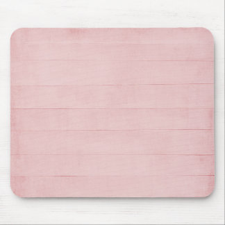 Blush Pink Watercolor Texture Look Girly Pastel Mouse Pad