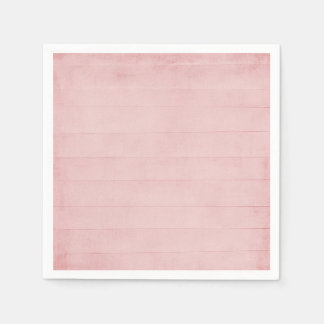 Blush Pink Watercolor Texture Look Girly Pastel Paper Napkin