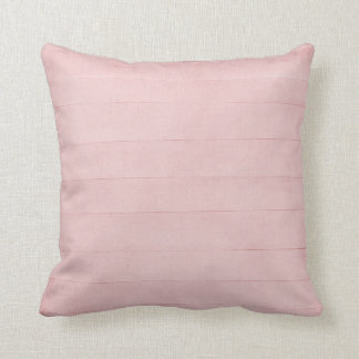 Blush Pink Watercolor Texture Look Girly Pastel Throw Pillow