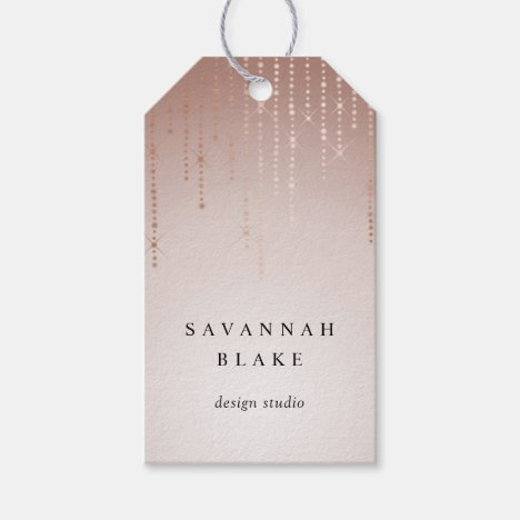 Blush Rain Custom Business or Boutique Tags