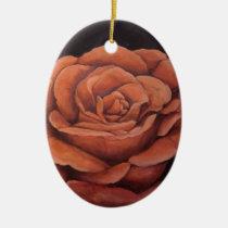 christmas, ornaments, rose, decorations, keepsake, memories, Ornament with custom graphic design