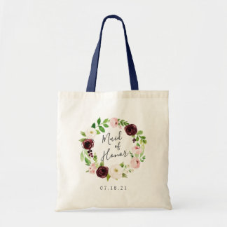Blush Romance Maid of Honor Tote Bag