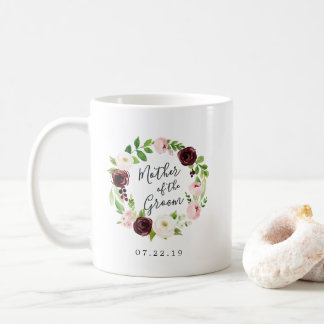 Blush Romance Mother of the Groom Coffee Mug