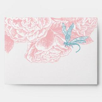 Blush Rose Envelope