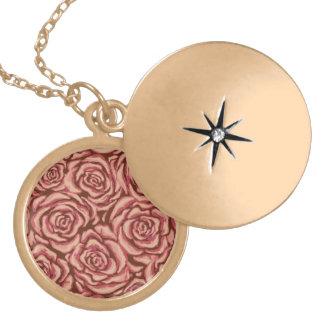 Blush Rose Locket Necklace