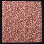 "Blush Rose Napkin<br><div class=""desc"">Painted blush rose pattern.</div>"