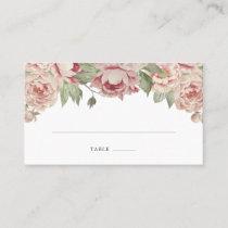 Blush Rose Seating Cards