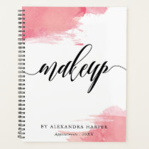 Blush Smudges - Calligraphy Makeup Artist Planner