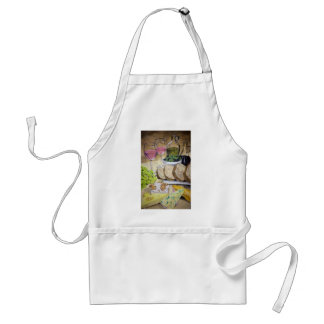 Blush Wine and Cheese Adult Apron