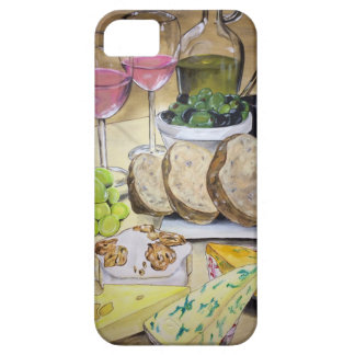Blush Wine and Cheese iPhone 5 Cases