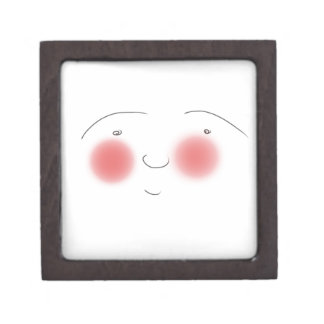 Blushes the Smiley Jewelry Box