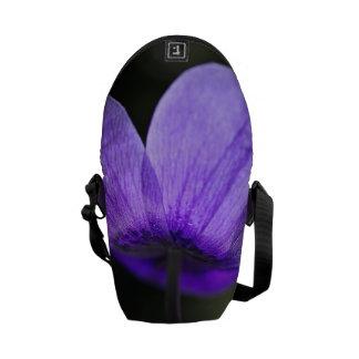 Blushing Anemone Flower - Small Bag Messenger Bags