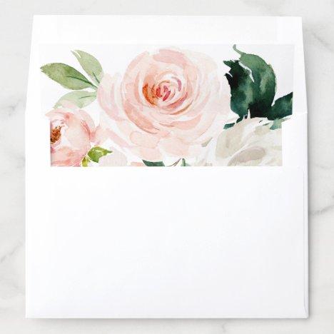 Blushing Blooms Envelope Liner