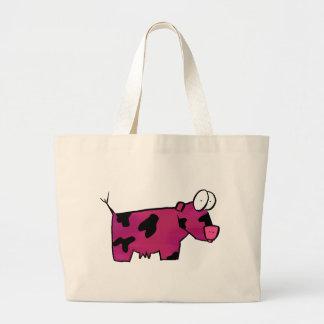 Blushing Bolvine Canvas Bags