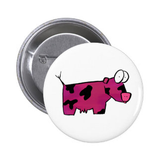 Blushing Bolvine Pinback Button