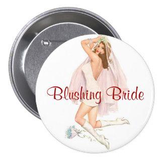 Blushing Bride Pin-Up