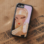 Blushing Bride Vintage Art Deco Illustration Tough Xtreme iPhone 6 Case