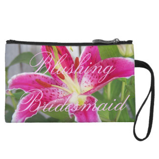 Blushing Bridesmaid Bag