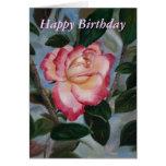 Blushing Delight Birthday Card Greeting Card