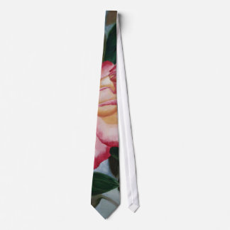 Blushing Delight Rose Tie