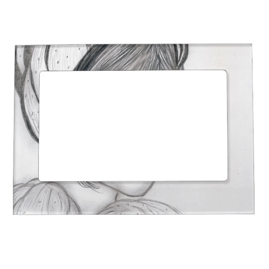 Blushing Flapper Magnetic Photo Frame