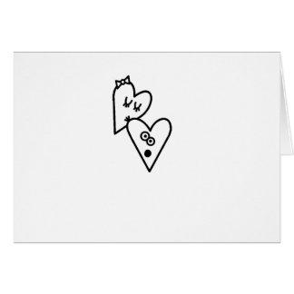 Blushing Heart Card